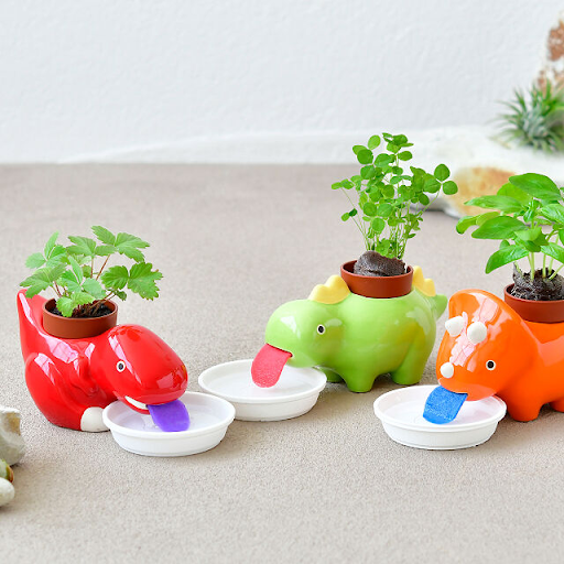 These Adorable Planters Are Simply Dino-Mite