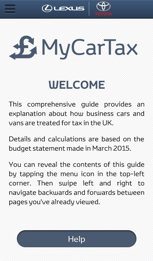 MyCarTax Guide- screenshot