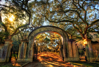 Photo: Anyone remember this place from Forest Gump?  I went there with my good friend +Scott Kublinto take photos... this is his home town in Savannah, GA. And next week, he comes here to NZ along with +Karen Hutton, +Curtis Simmons and about 20 more new friends! :)