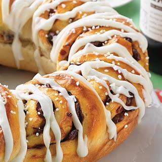 Cranberry-Vanilla Cinnamon Swirl Bread