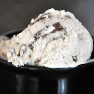 Vanilla Ice Cream with Nutella Chunks
