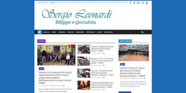 Sergio Leonardi Blog - náhled