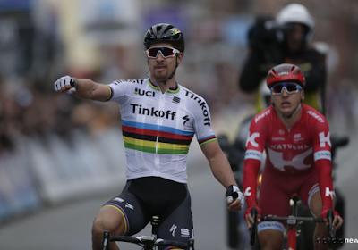 Sagan kan op zoek naar recordzege in Gent-Wevelgem