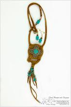 Photo: Travel Pendant with Turquoise - Кулон «Дорожній з бірюзою»