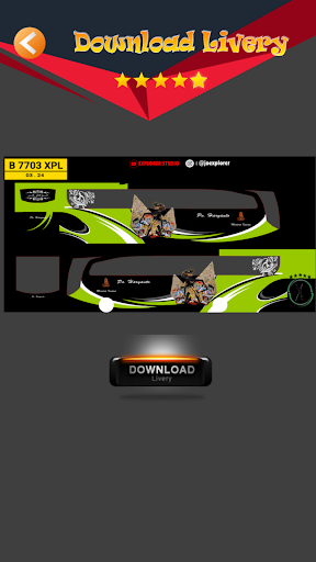 Livery MOD Bus JBHD 1.6 Screenshots 4