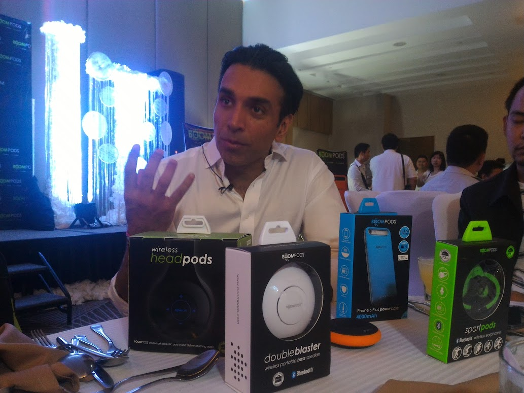 PREM BALANI, CEO AND FOUNDER, BOOMPODS.