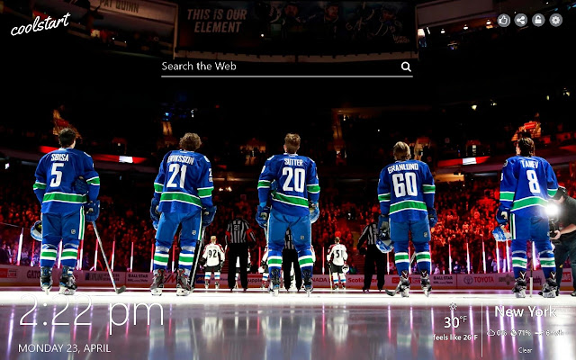 Vancouver Canucks HD Wallpapers NHL Theme
