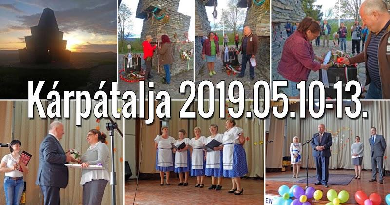 Kárpátalja 2019.05.10-13