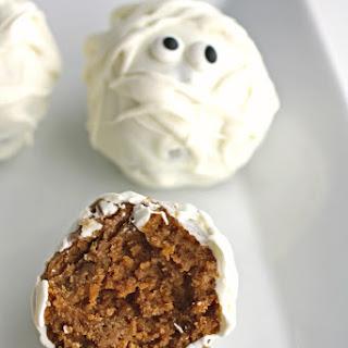 Gingersnap Mummy Truffle Bites