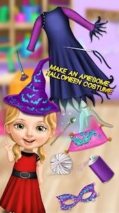 Sweet Baby Girl Halloween Fun - náhled