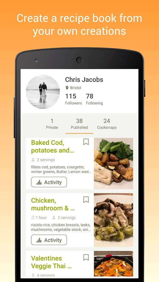 Cookpad - Create your own Recipes- screenshot