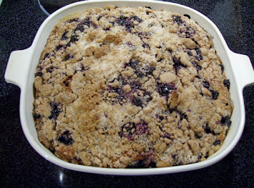 Worlds Best Blueberry Buckle Coffee Cake (by Freda Recipe