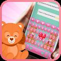 Cute Teddy 🐻  Bear Keyboard icon