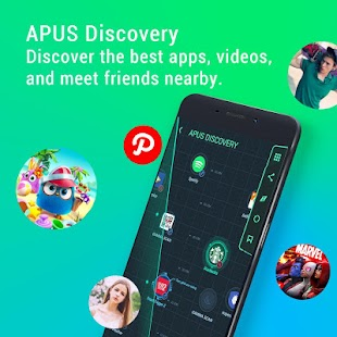APUS Launcher - Theme, Wallpaper, Boost, Hide Apps Screenshot