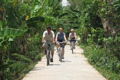 Mekong Delta biking off the beaten path