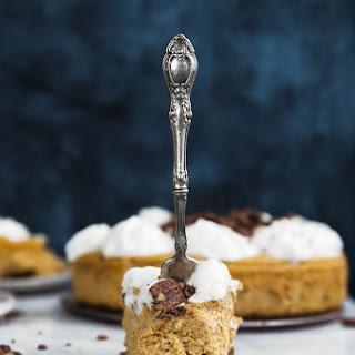 Gingersnap Pumpkin Mousse Cheesecake