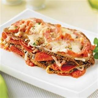 Eggplant Parmigiana with Margherita® Pepperoni