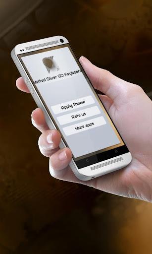 個人化必備免費app推薦|溶けシルバー GO Keyboard線上免付費app下載|3C達人阿輝的APP