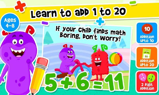 Addition and Subtraction for Kids - Math Games 1.8 screenshots 2