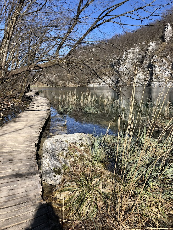 Pathway at Plitvice Lakes National Park