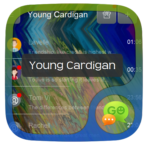 年轻外套 GO SMS 個人化 App LOGO-硬是要APP