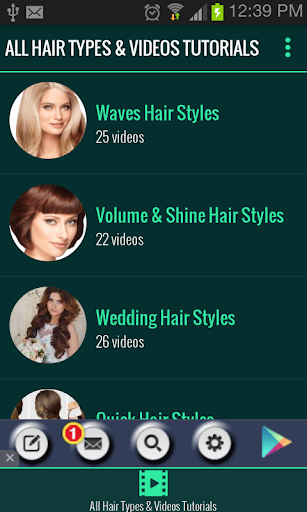 Hair Styles Videos Tutorials