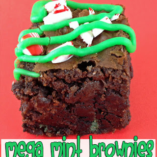 Mega Mint Chocolate Brownies