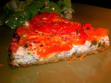 Roasted Tomato and Ricotta Tart