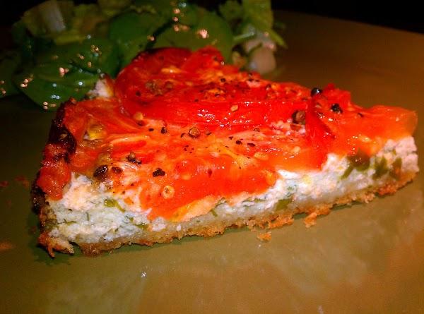 Roasted Tomato And Ricotta Tart Recipe