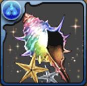 パズドラアイランドの貝殻【虹】