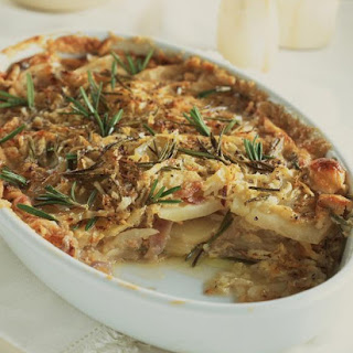 Potato and Celeriac Dauphinoise