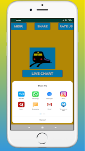 Rail Chart-IRCTC Vacant Seats Apk  Download For Android 3