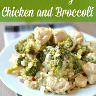 White Wine Dijon Chicken and Broccoli Recipe