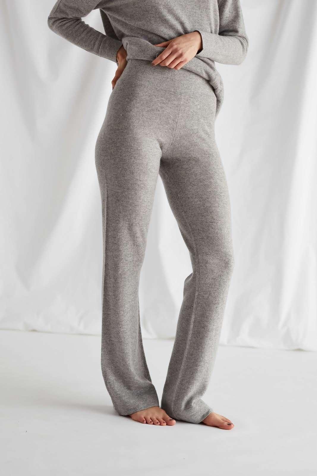 High Hem Pants