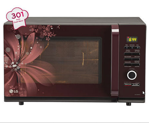 Auto cook program on microwave allows you to specify cooking time.Source: Indiamart