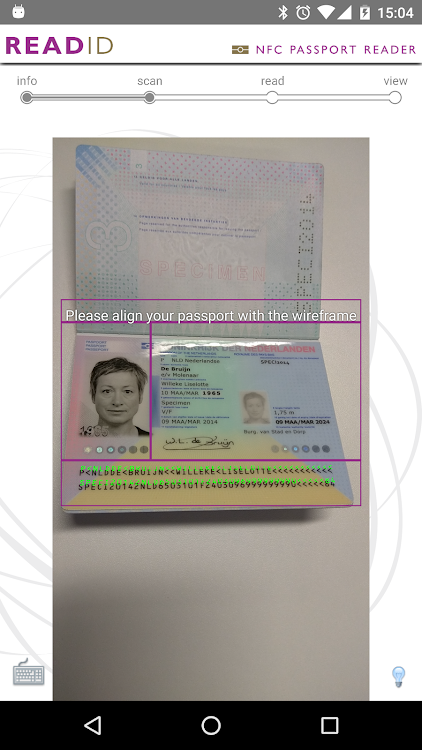 ReadID - NFC Passport Reader – (Android Apps) — AppAgg