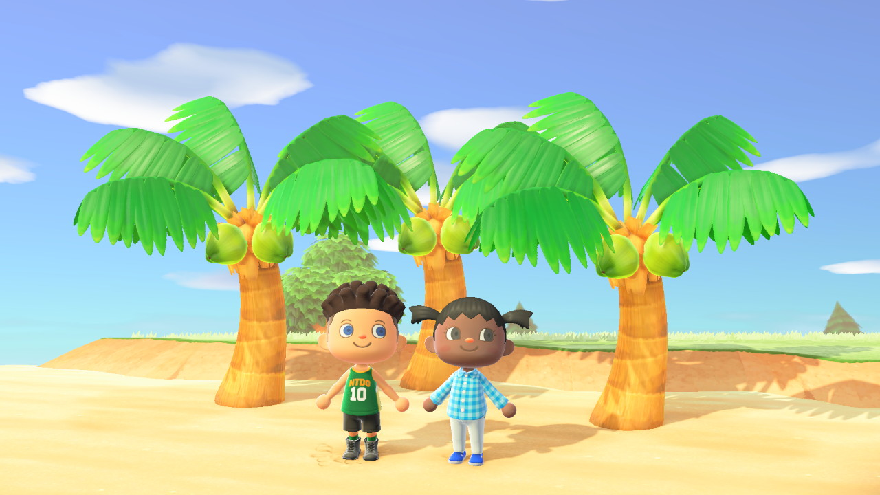 Bamby & Benny Kong in Animal Crossing