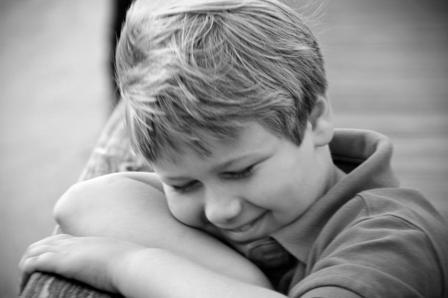 Hiding Smile by Carlos Holt - Babies & Children Children Candids ( b&w, pier, children )