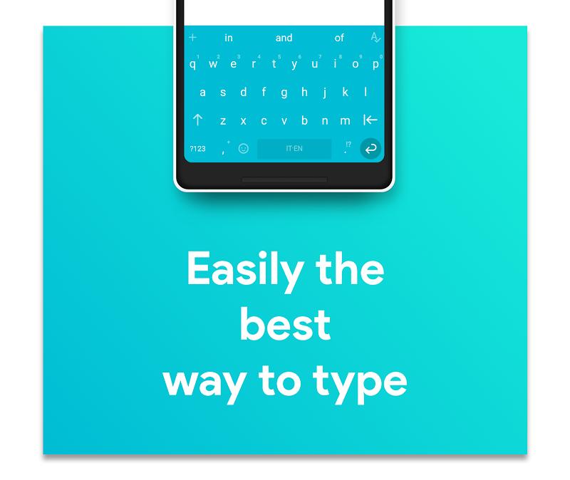 Hydrogen Keyboard Chrooma - Swipe, Fast, Typing Screenshot