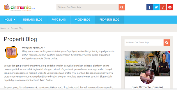 DIRMANTO.web.id- screenshot thumbnail