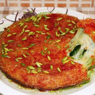 Delicious Arabic Sweet Kunafa Recipe (Knafeh)