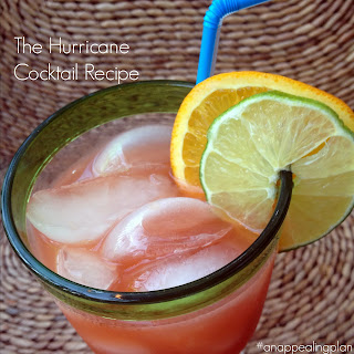 Mardi Gras Hurricane Cocktail Recipe { #SundaySupper }