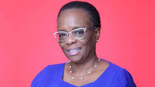 Thabang Charlotte Mampane, commissioner of the National Lotteries Commission.