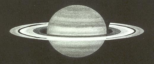 Photo: Saturne le 22 avril 2008 à 20H55TU. T406 à 350X en bino, bonnes iamges.