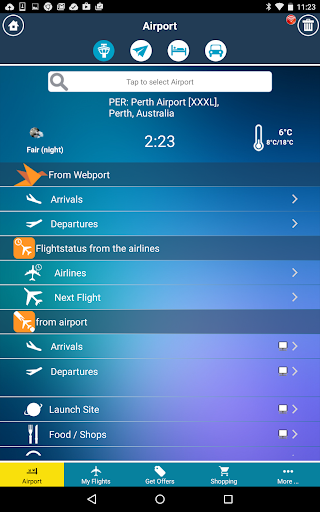旅遊必備APP下載|Perth Airport + Flight Tracker 好玩app不花錢|綠色工廠好玩App