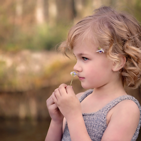 Stop and Smell the Flowers by Tiona Anglin Appel - Babies & Children Children Candids ( color image, child portrait, candid )