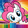 gioco da colorare per Pony