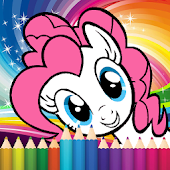 Coloring little pony princess