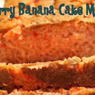 Strawberry Banana Cake Mix Bread.
