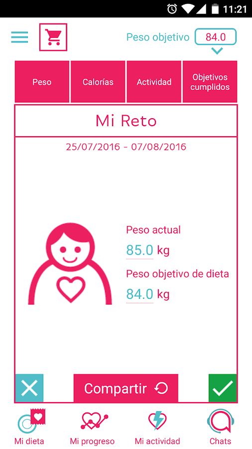 Diet Alba- screenshot